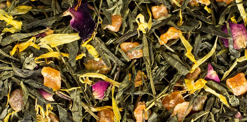BestTea: Зеленый чай с ароматизаторами