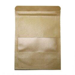 Пакет для чая стилизованный с зипом, бумажный 180 г, 220*120 мм в чайном магазине BestTea, фото
