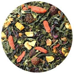Чай зеленый Оптимист (Годжи), ароматизированный в чайном магазине BestTea, фото