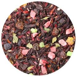 Чай фруктовый с арбузом, ароматизированный в чайном магазине BestTea, фото