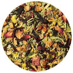 Чай травяной Малина с мятой в чайном магазине BestTea, фото