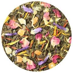 Чай зеленый Грезы Шейха, ароматизированный в чайном магазине BestTea, фото