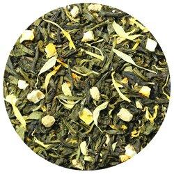 Чай зеленый с имбирем и медом, ароматизированный в чайном магазине BestTea, фото