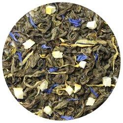 Чай зеленый Лимон и мята, ароматизированный в чайном магазине BestTea, фото