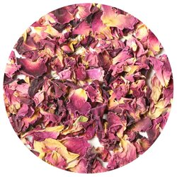 Роза красная лепестки в чайном магазине BestTea, фото