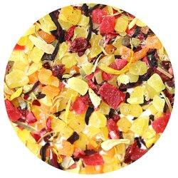 Чай фруктовый Ягодный калейдоскоп, ароматизированный в чайном магазине BestTea, фото