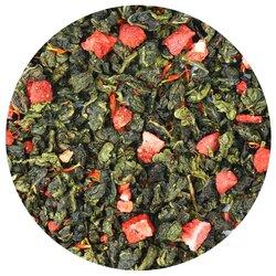 Чай улун Клубника со сливками в чайном магазине BestTea, фото