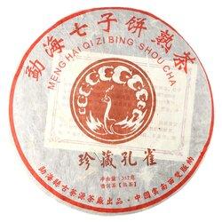 Чай пуэр Печать Дракона, Шу, Блин 357 г в чайном магазине BestTea, фото