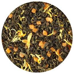 Чай зеленый Манго со сливками, ароматизированный в чайном магазине BestTea, фото