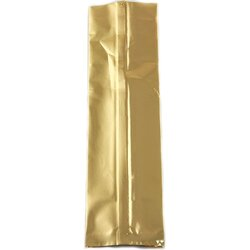 Пакет для чая фольгированный Золотистый 150г, 250*70*55 мм, Цвет: Золото в чайном магазине BestTea, фото