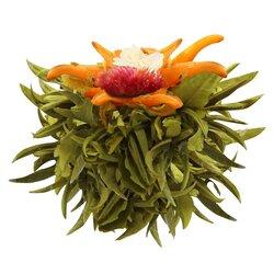 Чай связанный Священный Плод с жасмином и ароматом кокосового молока в чайном магазине BestTea, фото