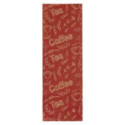 Пакет для чая двухслойный Coffe&Tea Бордовый, 100 г, 205*70*40 мм, Цвет: Бордовый в чайном магазине BestTea, фото