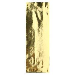 Пакет для чая двухслойный, золотой глянцевый, 100 г, 205*70*40 мм, Цвет: Золото в чайном магазине BestTea, фото