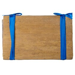Чай пуэр Плитка №2 в бамбуковом листе Синяя Лента, Шу 250 г в чайном магазине BestTea, фото