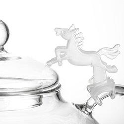 Держатель крышки чайника силиконовый Лошадь в чайном магазине BestTea, фото