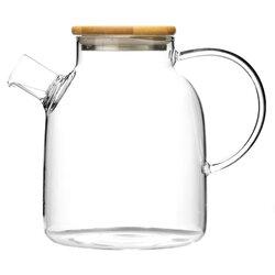 Чайник стеклянный Гранат, 1500 мл, Объем мл: 1500 в чайном магазине BestTea, фото