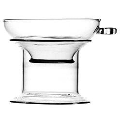 Cито для чая Стеклянное с ручкой и подставкой в чайном магазине BestTea, фото