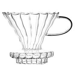 Воронка стеклянная (пуровер) в чайном магазине BestTea, фото