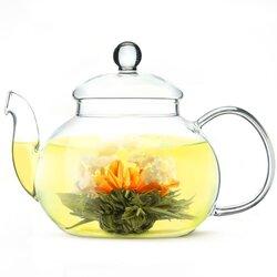 Чай связанный Бай Хуа Сян Цзы (Лунный сад жасминовый) в чайном магазине BestTea, фото