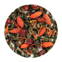 Чай улун Барбарисовый в чайном магазине BestTea, фото