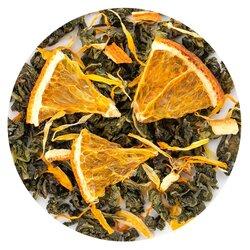 Чай улун Красный Апельсин в чайном магазине BestTea, фото
