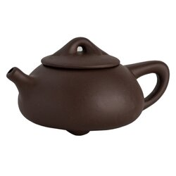 Чайник глиняный темно-коричневый 225 мл в чайном магазине BestTea, фото