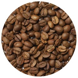Кофе в зернах Империя Чая Амаретто, ароматизированный, Вес упаковки: 1000 в чайном магазине BestTea, фото