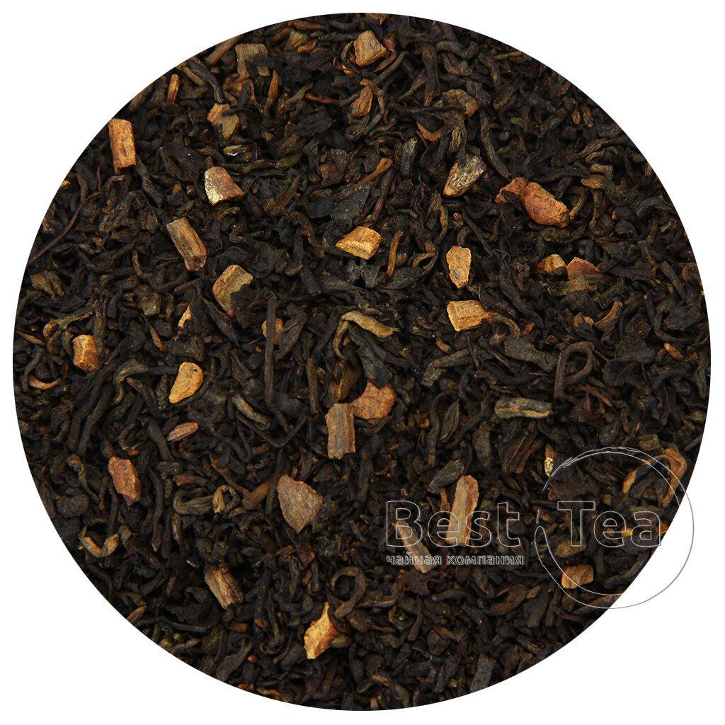 чай пуэр с кордицепсом