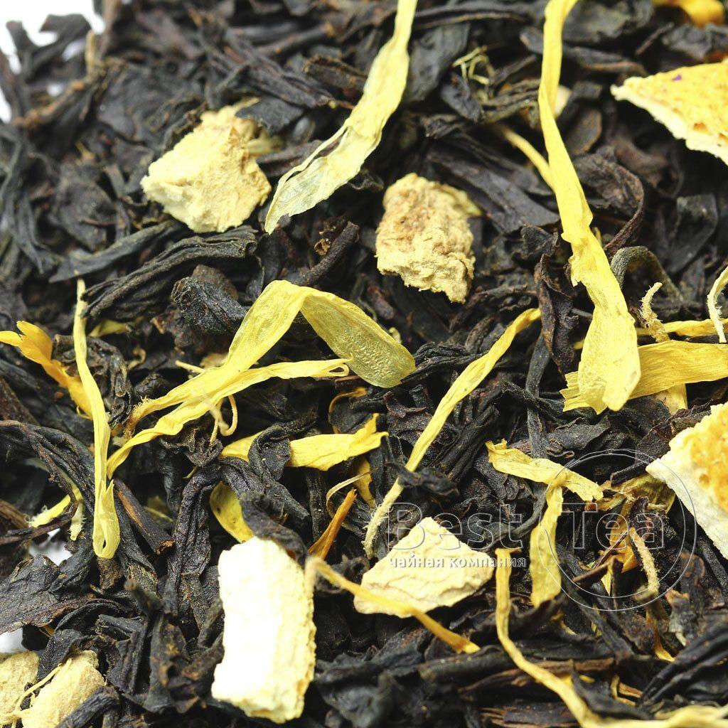 как сделать черный чай с имбирем